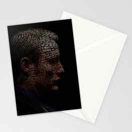 Hannibal Typography Stationery Cards