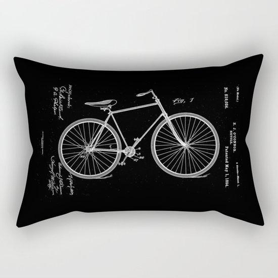 Vintage Bicycle Patent Black by designandart