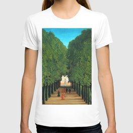 Henri Rousseau - The Avenue in the Park at Saint Cloud T-shirt