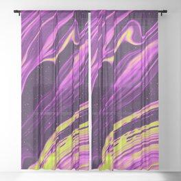 Pandemonium Sheer Curtain