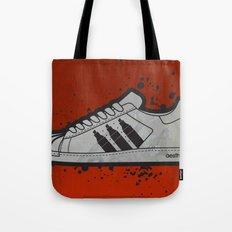 Aesthetix 3 Pens Superstar (Safety Orange) Tote Bag
