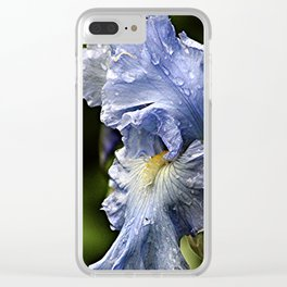 Iris After the Rain Clear iPhone Case