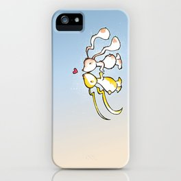 Kissing Bunnies iPhone Case