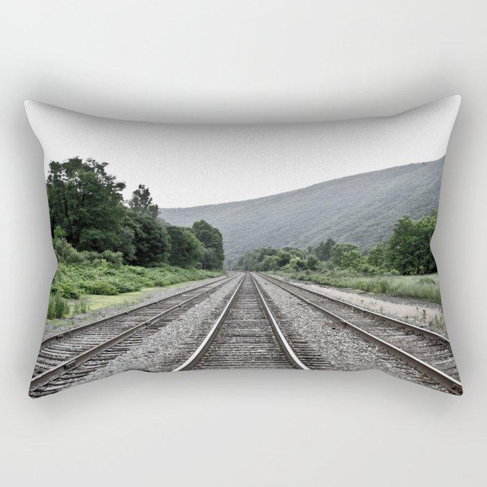 No Where Rectangular Pillow