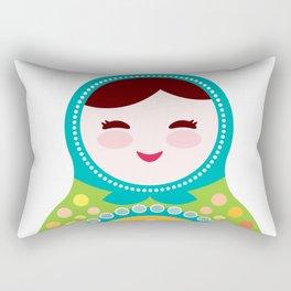 babushka doll matryoshka Rectangular Pillow