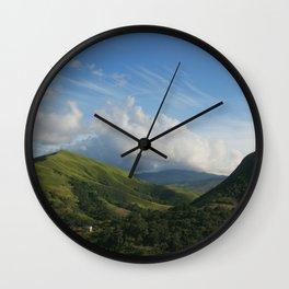 Nirgua Mountains 3 Wall Clock