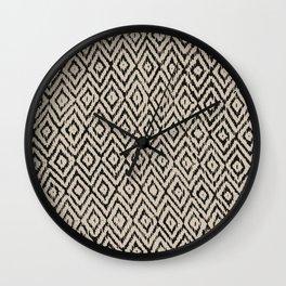 Boho Diamonds inverse Wall Clock
