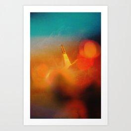 Countdown Art Print