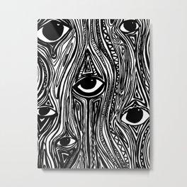Eyes (Insomnia) Metal Print