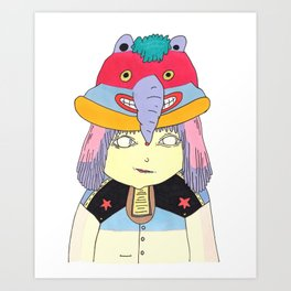 My Hat Art Print