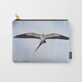 Swallow-tailed Kite (Elanoides forficatus) in flight with a grasshopper Carry-All Pouch