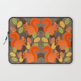 Three Squirrels In A Tree Laptop Sleeve