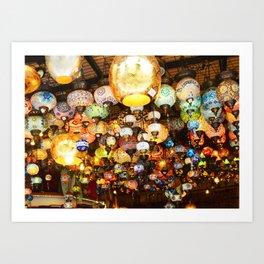 Turkish Lamps - Istanbul, Turkey Art Print