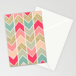 Distorted Chevron in Dream Sequence Stationery Cards