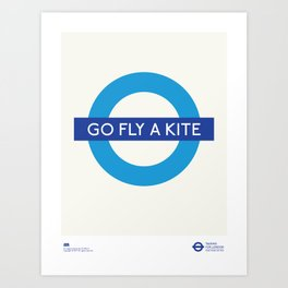 Go Fly A Kite   TFL Art Print