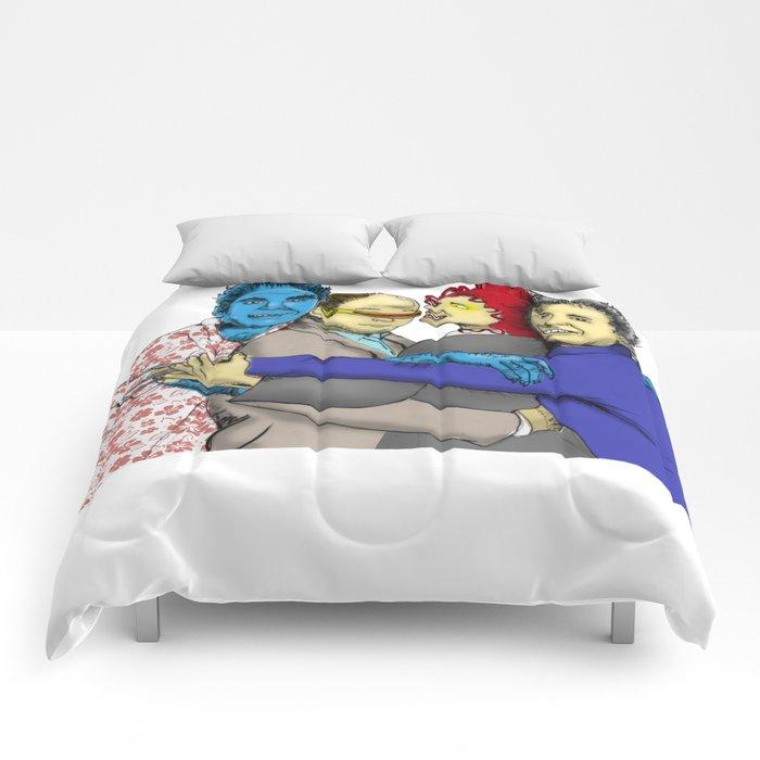The Uncanny Seinfeld Comforters