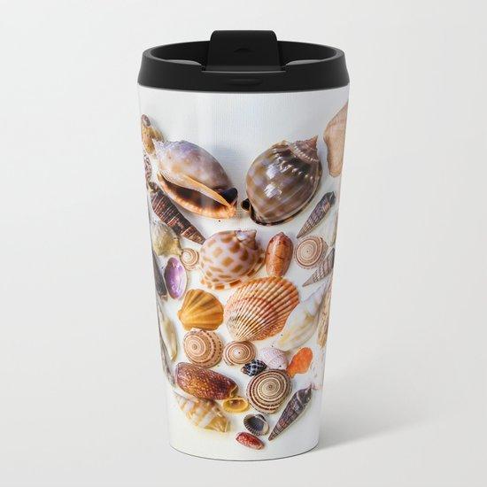 Heart of the Sea Metal Travel Mug