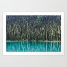 Joffre Lake Art Print