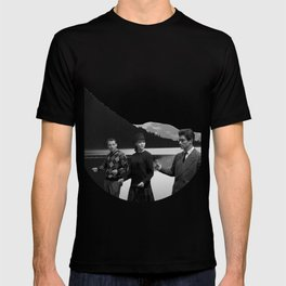 Collage Bande à part (Band of Outsiders) - Jean-Luc Godard T-shirt