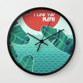 I love you, Noni Wall Clock