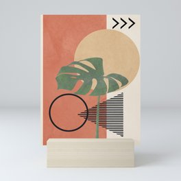 Nature Geometry I Mini Art Print