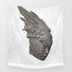 Stone Angel Wall Tapestry
