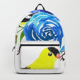 Goldfinches Showing Love Backpack