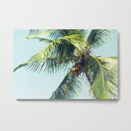 Palm Whispers Metal Print