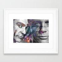 james bond Framed Art Prints featuring Bond, James Bond by DetectivesINC