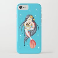 the little mermaid iPhone & iPod Cases featuring Mermaid by Freeminds