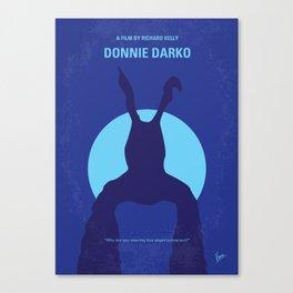 No295 My Donnie Darko minimal movie poster Canvas Print