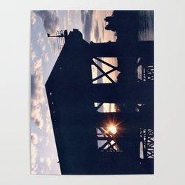 Greenwich Sunset (2) Poster