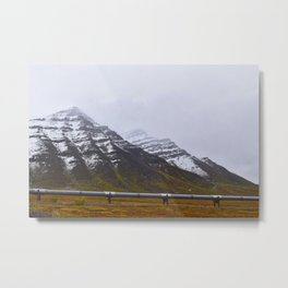 Autumn in the North Slope Metal Print