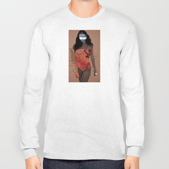 Fleisches Lust 8 - meat Collage Long Sleeve T-shirt