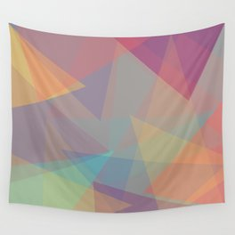 Color cones Wall Tapestry