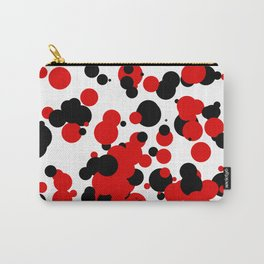 White black red Carry-All Pouch