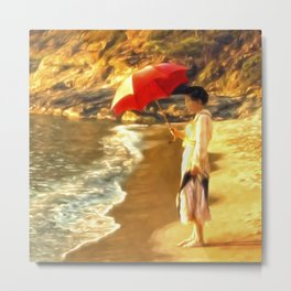 Old Fashioned Sunscreen Metal Print
