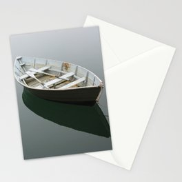 Green Rowboat Stationery Cards