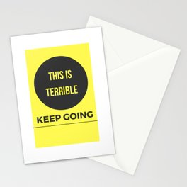 Keep Going MFM Stationery Cards