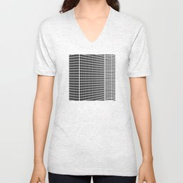 TWO BUILDINGS Unisex V-Neck