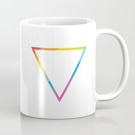 Pride: Rainbow Geometric Triangle Coffee Mug