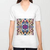 trip V-neck T-shirts featuring Trip by Cs025
