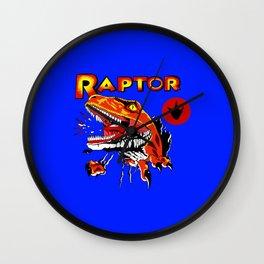 Raptor Dinosaur Ghost World Enid Shirt Digitally Re created Wall Clock