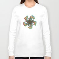 celtic Long Sleeve T-shirts featuring Caustic Celtic by Charles Emlen