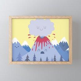 Relief Framed Mini Art Print
