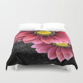 zany flowers Duvet Cover