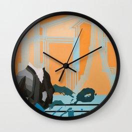 Music to My Head Wall Clock