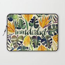 Tropical Wanderlust – Orange & Emerald Laptop Sleeve