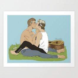 """ OTP - Niam "" Art Print"