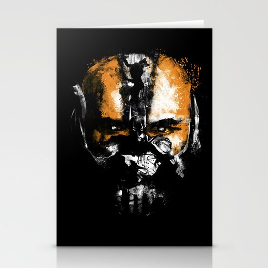 Bane Rhymes with Pain Stationery Cards